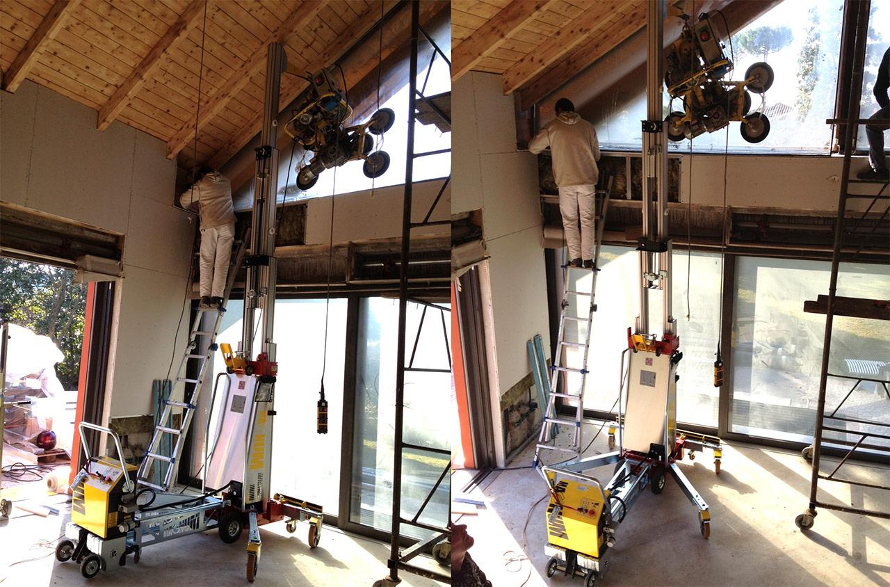 Sollevatore verticale per interni vecchiato autotrasporti - Prato verticale per interni ...